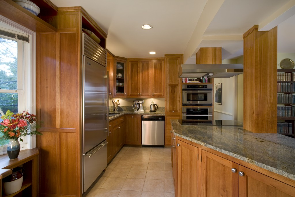 Open Galley Kitchen Albion Cabinets Amp Stairs